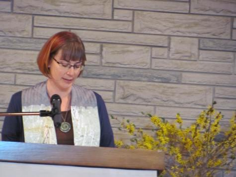 speaking at ordination